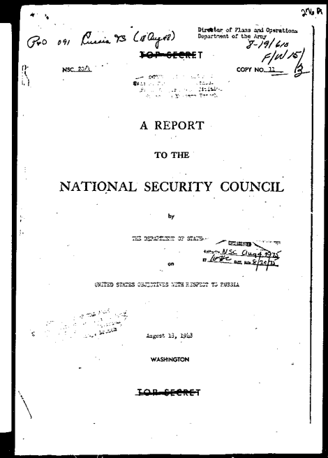 Директива 20 САЩ срещу СССР -ot-18