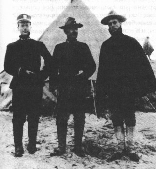 Представители на Антантата в Мурманск