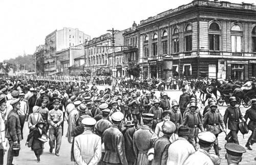 Германска войска в Киев, 1918 г.