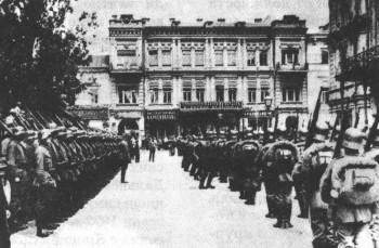 Германски войски в Киев, 1918 г.