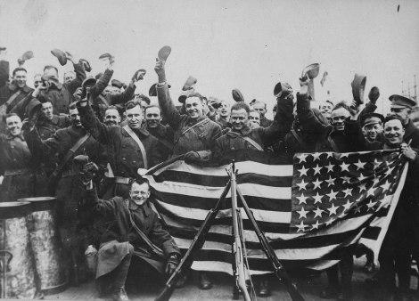 Американски войски в Русия, 1918 г.