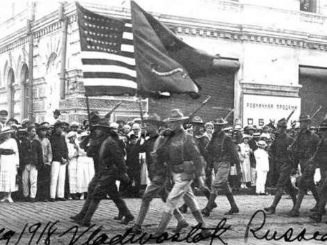Армията на САЩ във Владивосток, 1918 г.