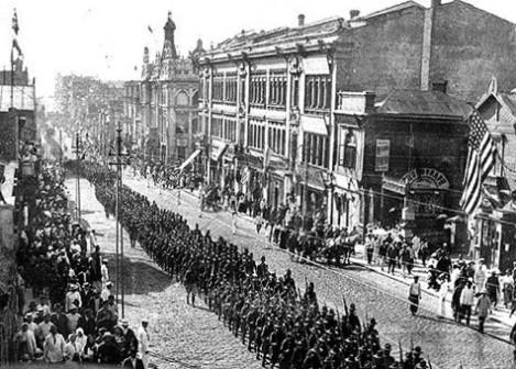 Хуманитарни интервенти във Владивосток, 1918 г.