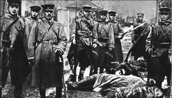 Японска войска в Приморие, 1918 г.