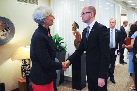 МВФ Яценюк N