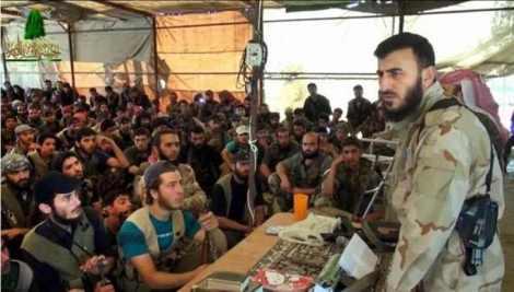 """Захран Алуш от """"Армията на исляма"""""""