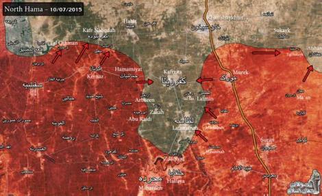 Карта Сирия 3