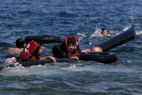 Мигранти Гърция e