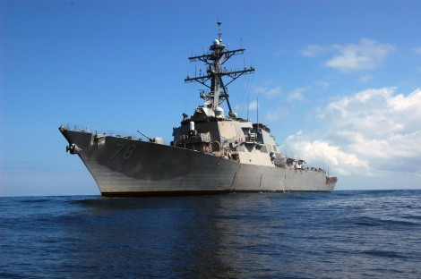 USS Porter on Deployment