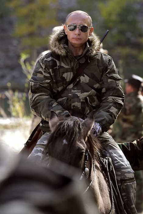 Путин камуфлаж