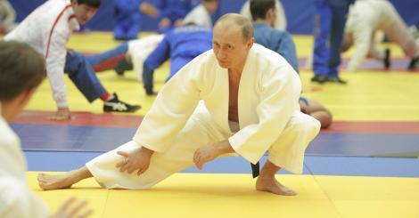 Путин тренировка