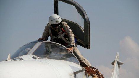 Руски пилот в Сирия