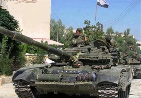 Сирийска правителствена армия