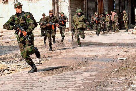 Сирийската правителствена армия