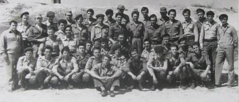 Офицери от 231-ви зенитно-ракетен полк от войските на ПВО на СССР в гр. Хомс, Сирия, 1984 г.